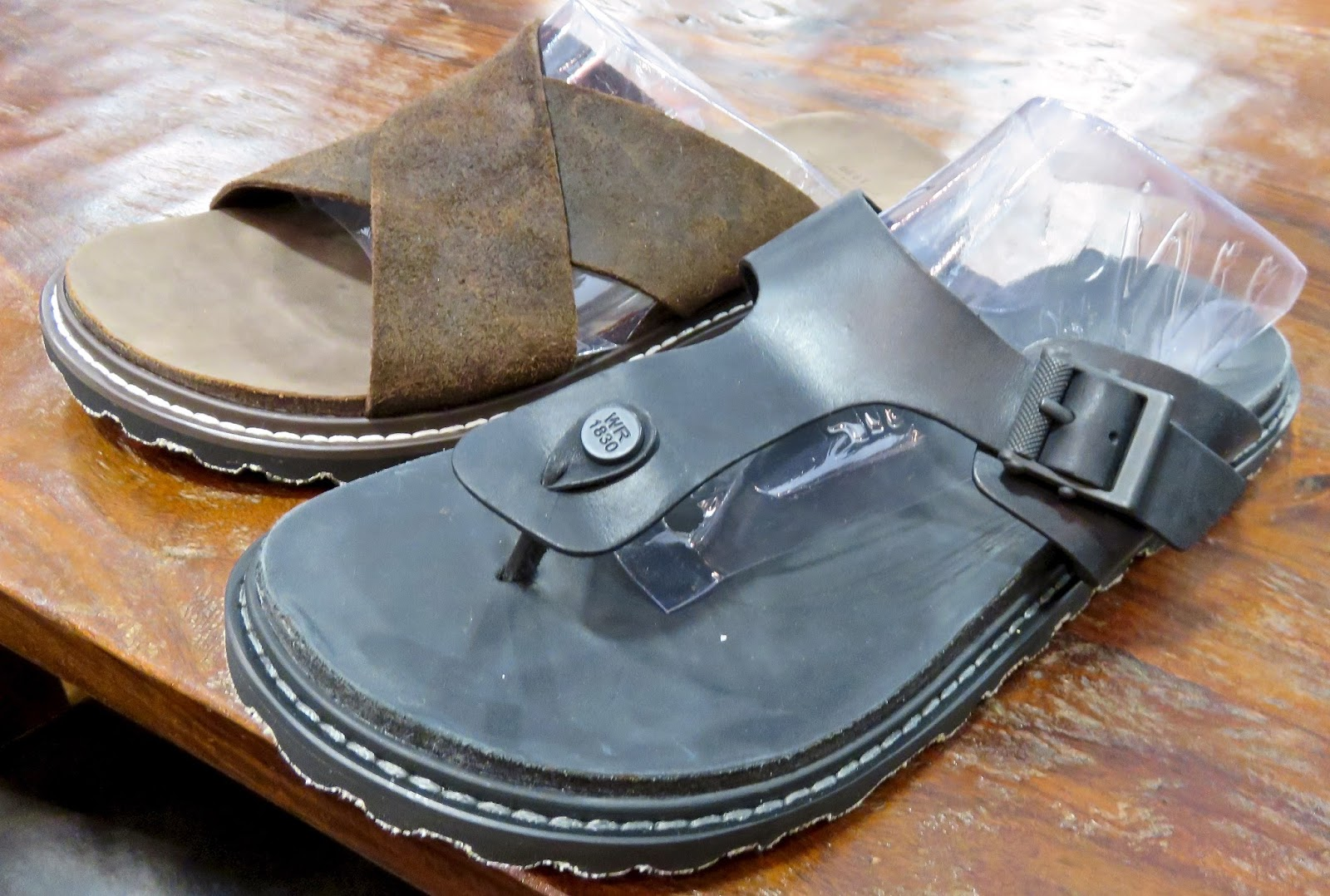 f72f89e825a4b Guy sandals-that look handsome...sturdy rubber outsole -good enough for  city streets...in front Lakeside in full grain leather