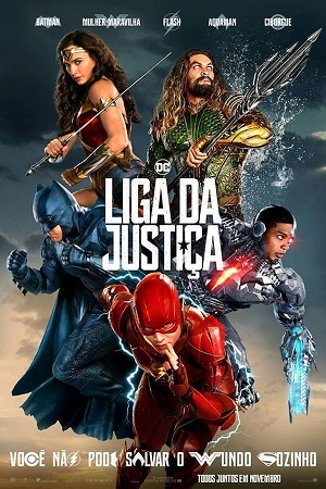 Liga da Justiça Blu-Ray HD Filmes Torrent Download capa