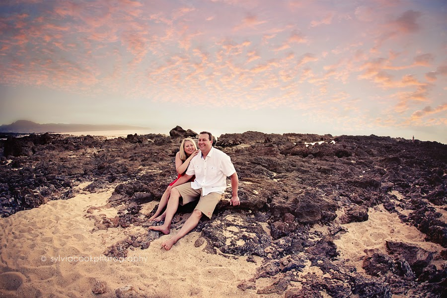 Elsa and Phil Hawaii pre wedding beach day