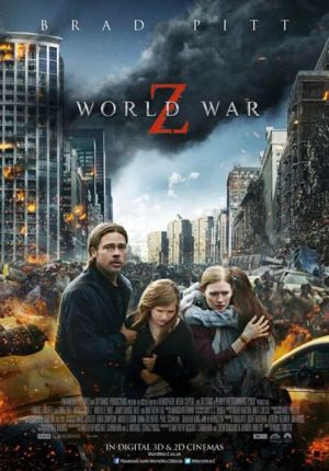 World War Z Film Hollywood Terbaru Ramaikan 21 Cineplex