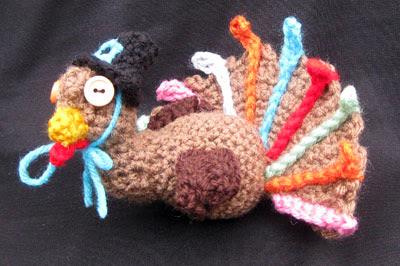 Free turkey amigurumi : Gefilte quilt interactive crocheted turkey menorah for