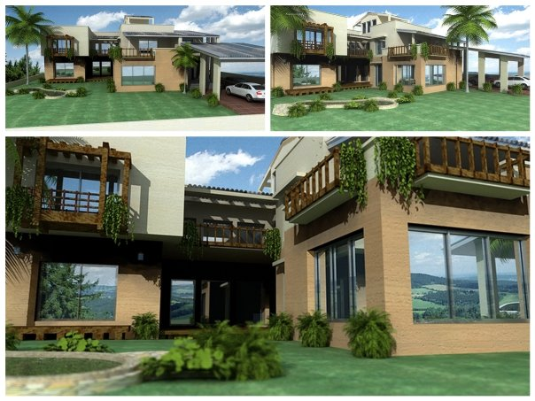 3D Home Front Elevation