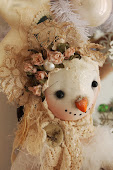 Christmas primitives  dolls