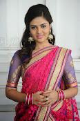 Sri Mukhi Gorgeous Half saree Photos-thumbnail-9