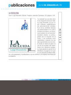 «La excluida» en El Giraldillo