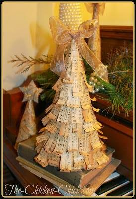 Vintage Christmas Tree Tutorial