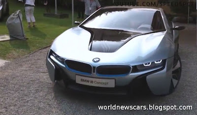 BMW i8 Concept Driving at Villa d'Este