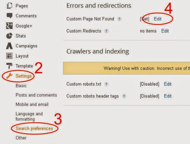 Mengarahkan Error 404-2
