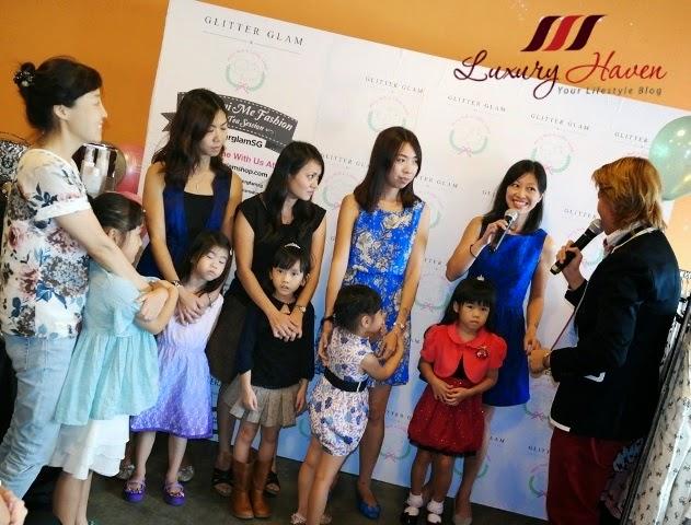 glitter glam mother daughter mini me fashion show