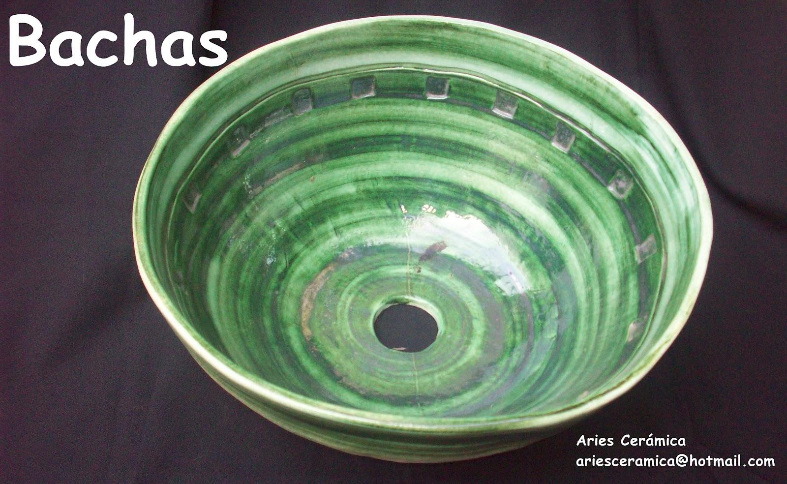 Bachas Para Baño Redondas:Aries Ceramica Para El Hogar: Bachas Para Baños!