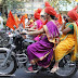indian lady riding bike 130