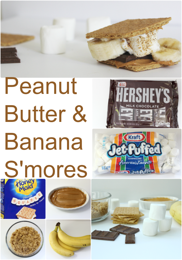 Peanut Butter & Banana S'more Recipe: Satiating The Pregnant Lady Wit...