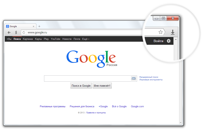 Как на гугле сделать картинку