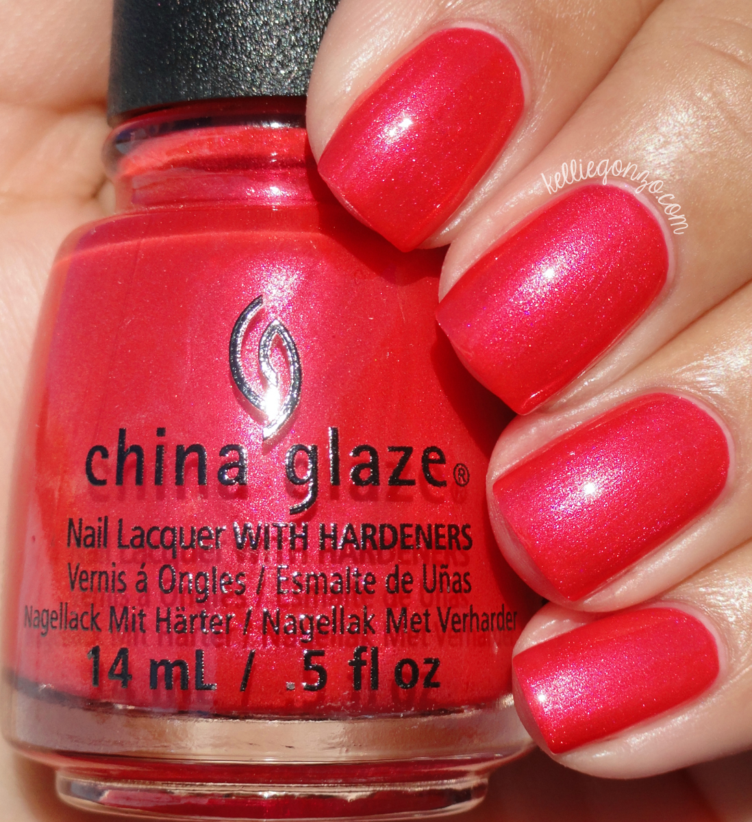 China Glaze Son Of A Nutcracker