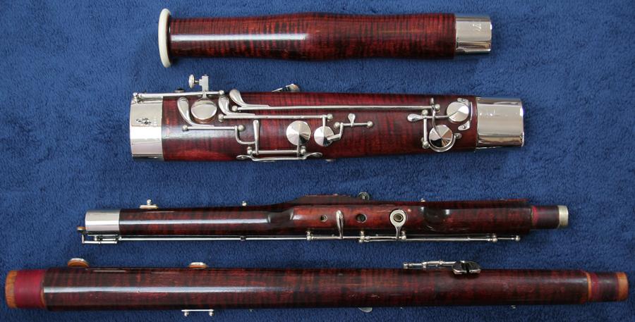 serial number on fox bassoon