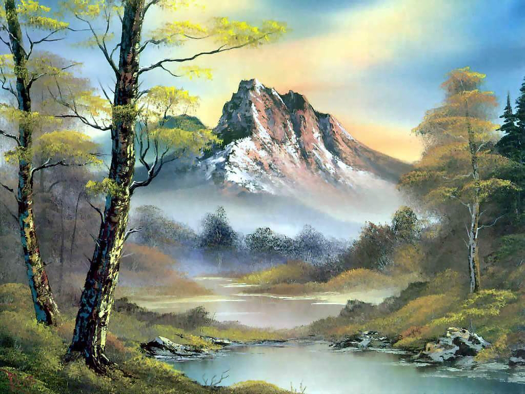 Painting nature 3d nature high resolution hd wallpapers for Free photo paint