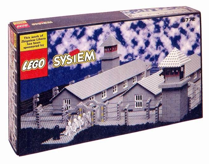 Lego campo de concentração
