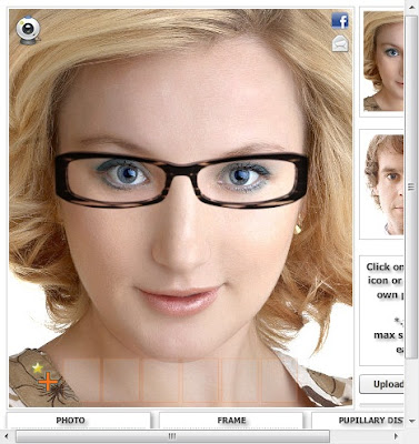 try on glasses online