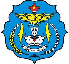 Logo SMAN 1 dan SMKN 1 Kawali