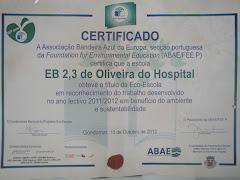 Galardão Eco-Escolas 2011 - 2012