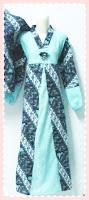 model+baju+gamis+batik+(2) Contoh Model Baju Gamis Modern Terbaru 2014 Baru