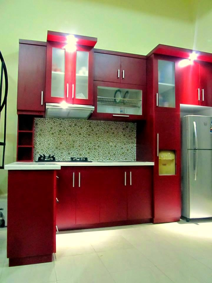 Kitchen Set Warna Merah Hitam Kitchen Models Kitchen Design Ideas 2019