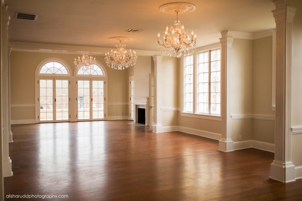Charlotte wedding venue pictures inside separk mansion for Mansion floor plans with ballroom