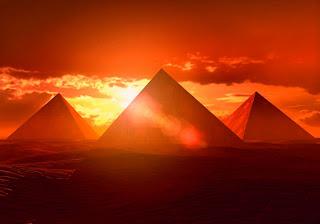 the pyraminds
