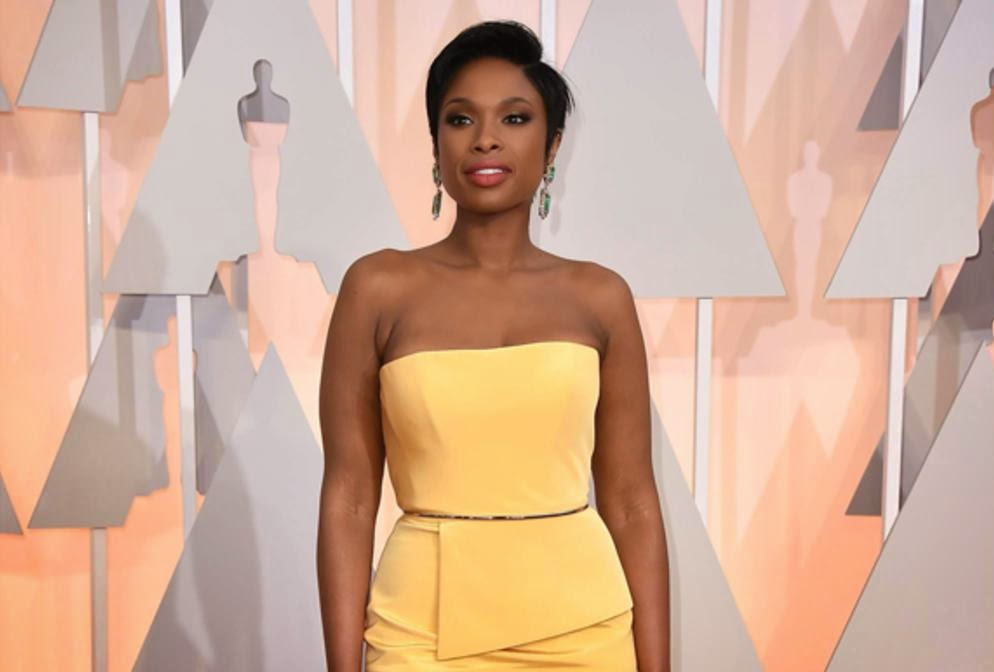 jennifer hudson oscars 2015 woodybeauty plus beaux maquillages