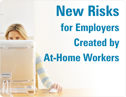 work at home, risk, insurance, employer