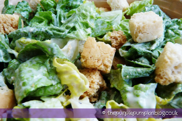 Caesar Salad at The Purple Pumpkin Blog