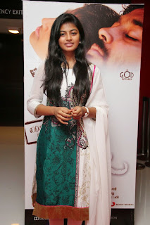 Actress Anandhi Picture Gallery in Salwar Kameez at Kayal Movie Audio Launch  17