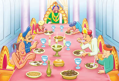 Tenali Raman and the Special Meal