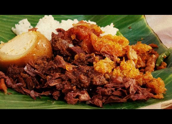 Gudeg Nangka Makanan Tradisional Dari Yogyakarta Negeriku Indonesia