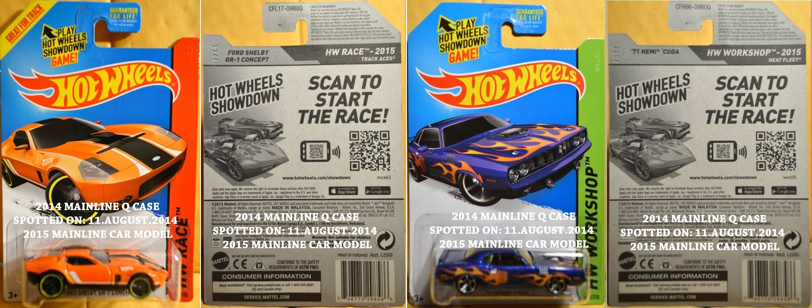 Monday, 11 August 2014. 2014 HOT WHEELS Q ...
