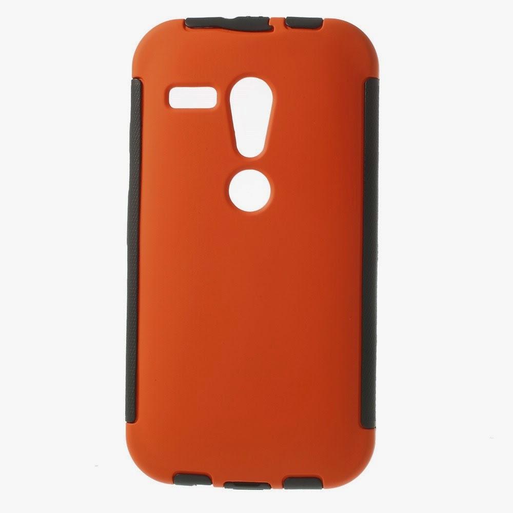 Defender-Series-Case-Cover-Screen-Protector-Motorola-Moto-G-DVX-XT1032-Orange