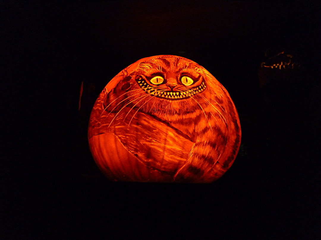 And, of course, the Cheshire Cat!