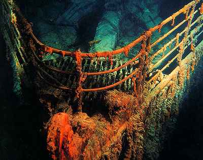 Titanic Pictures Underwater Need Learning