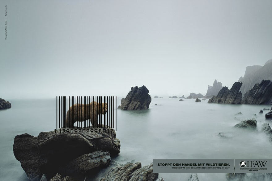 Stop The Wildlife Trade - 33 Powerful Animal Ad Campaigns That Tell The Uncomfortable Truth