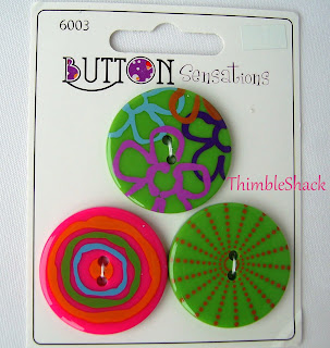 Funky large unusual acrylic buttons, green, purple, pink, turquoise, bag making, sewing, knitting.