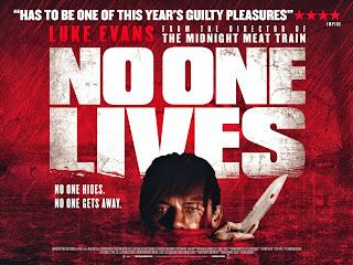 no one lives film poster