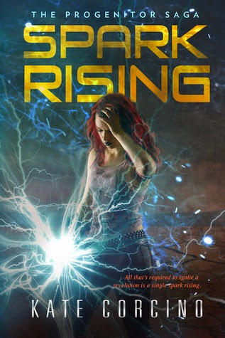 Q+A with Kate Corcino + Spark Rising post apocalyptic Book Giveaway
