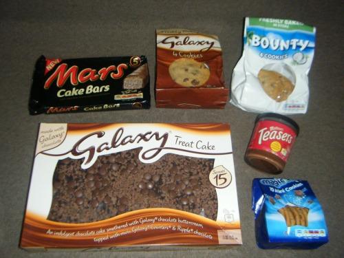yummy mars galaxy chocolate products