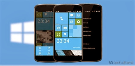 Launcher 8 terbaik Android
