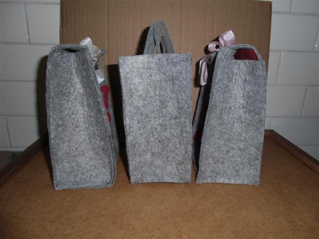 Borse Fatte A Mano Di Feltro : Bellezza in ricicletta borse di feltro primaverili