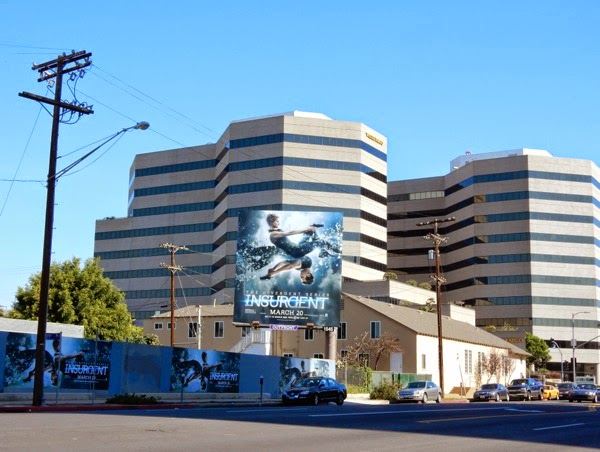 Insurgent film billboard