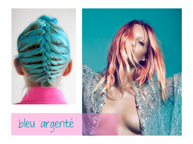 couleur bleu cheveux