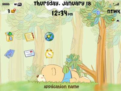 Baby Bear Theme (8520/9300 OS5) Preview 1