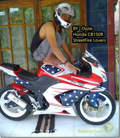 modifikasi cb150r ala kawasaki ninja 250