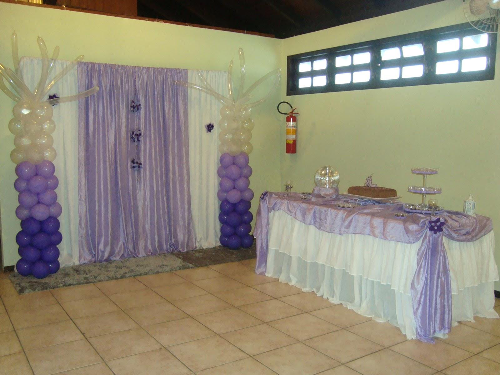 KaDe Festas: Decoração para festa de 15 anos Lilás e Branco #633D25 1600x1200 Banheiro Branco E Lilas